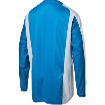 Motocross Jersey Shift White Label Race 2, blau/weiss Größe M Rückansicht