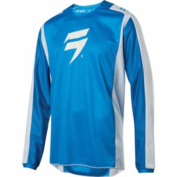 Shift White Label Race 2 Motocross Jersey 2020, blau/weiss