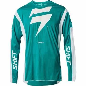 Cross Jersey Shift Black Label Race 1, mintgrün/weiss Größe M