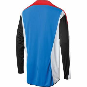 Motocross Jersey Shift Black Label Race blau/rot Größe M Rückansicht