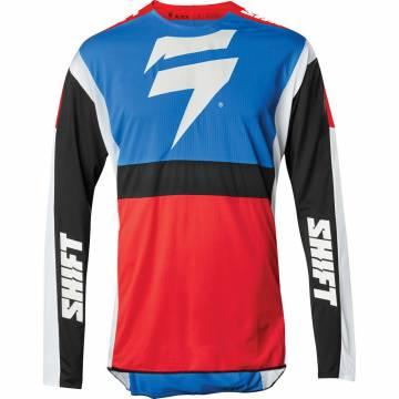 Cross Jersey Shift Black Label Race blau/rot Größe M