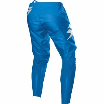 Motocross Hose Shift White Label Race 1, blau Größe 32 Rückansicht