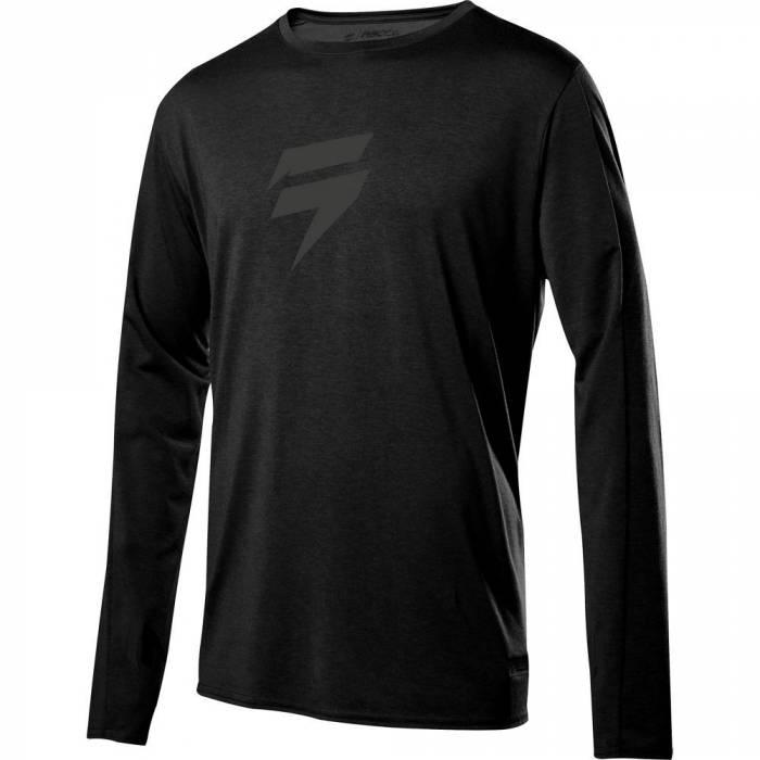 Motocross Jersey Shift Recon Drift Enduro Shirt, schwarz Größe S