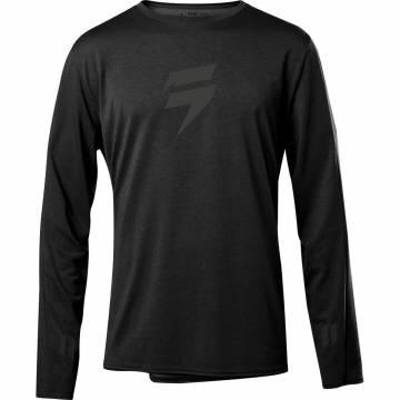 Motocross Jersey Shift Recon Drift Enduro Shirt, schwarz Größe S Vorderansicht