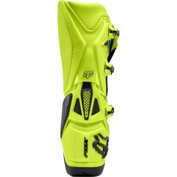 Motocross Stiefel Fox Instinct, neongelb/schwarz Größe 44 Rückansicht