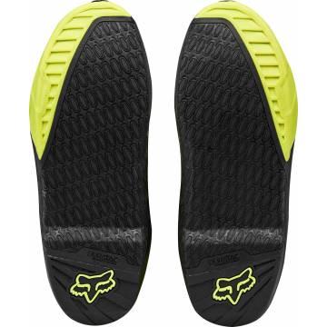 Motocross Stiefel Fox Instinct, neongelb/schwarz Größe 44 Profile