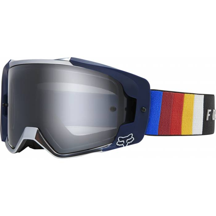 Motocross Brille Fox VUE Vlar, blau