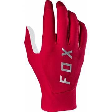 Motocross Handschuhe Fox Flexair, rot/weiss
