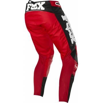 Motocross Hose Fox 360 Linc rot/schwarz Größe 32 Rückansicht