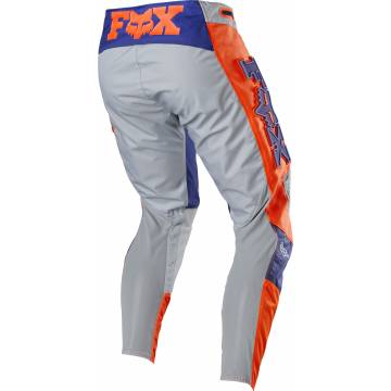 Motocross Hose Fox 360 Linc, grau/orange Größe 32 Rückansicht