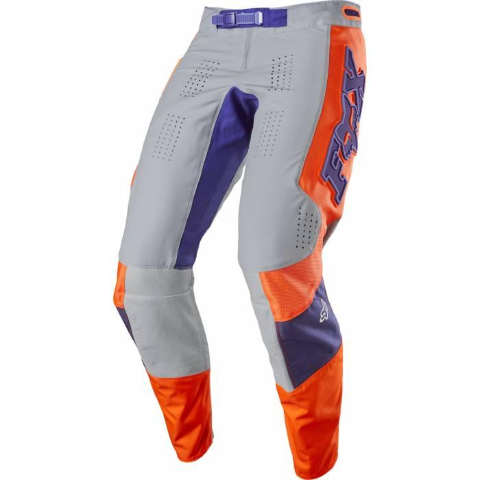 Motocross Hose Fox 360 Linc, grau/orange Größe 32