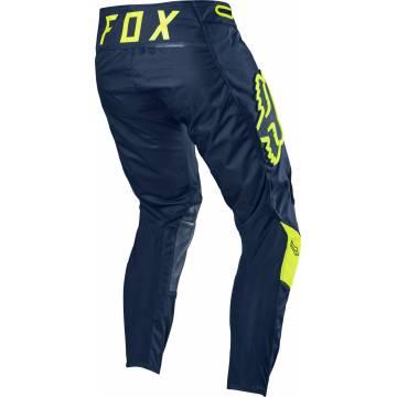 Motocross Hose Fox 360 Bann, navy/neongelb Größe 32 Rückansicht
