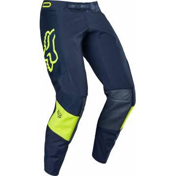 Motocross Hose Fox 360 Bann, navy/neongelb Größe 32 Seitenansicht