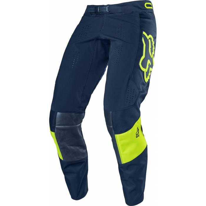 Motocross Hose Fox 360 Bann, navy/neongelb Größe 32