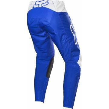 Motocross Hose Fox 180 Prix, blau/weiss, Rückansicht