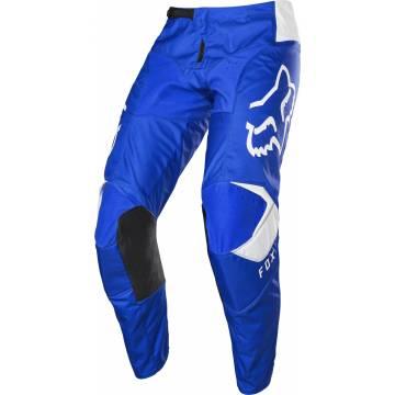 Motocross Hose Fox 180 Prix, blau/weiss