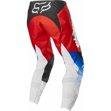 Motocross Hose Fox Womens 180 Fyce für Damen rot/weiss/schwarz  Rückansicht