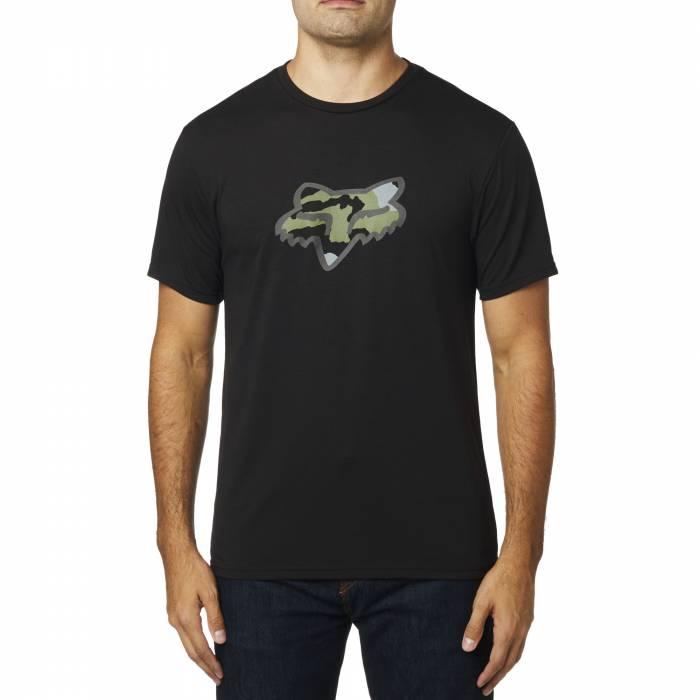 FOX Tech T-Shirt Predator   schwarz camo   24462-001