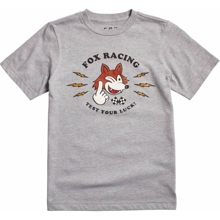 Fox Test you Luck Kinder T-Shirt, 24468-416