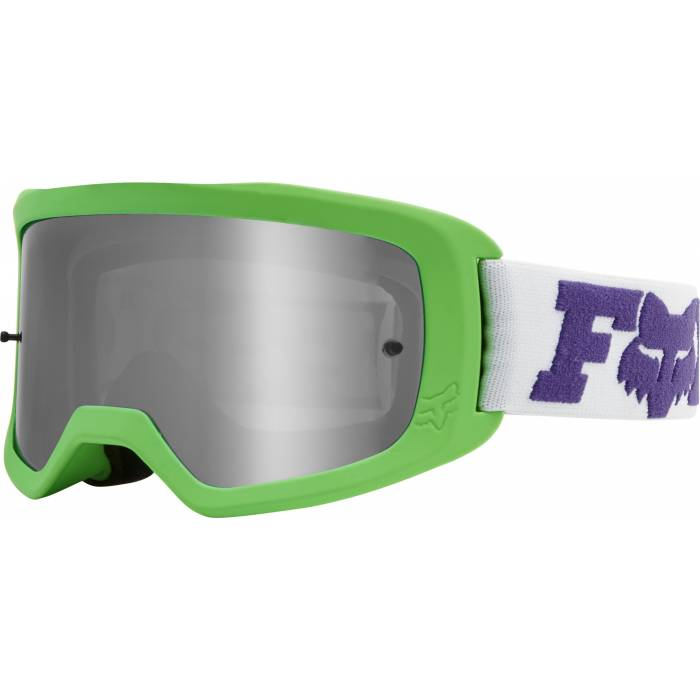 Kinder Motocross Brille Fox Main 2 Linc neongrün