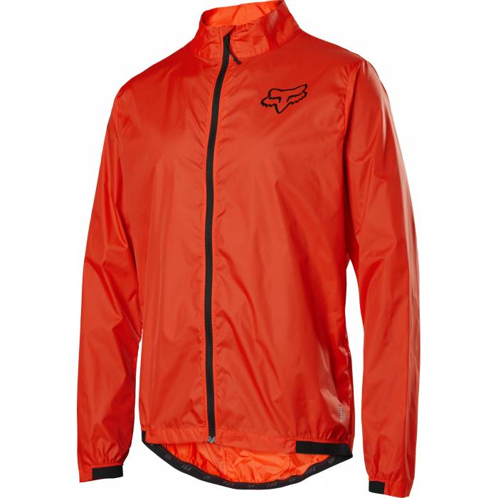 FOX Defend Mountainbike Windstopper Jacke, orange, 25423-368