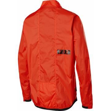 FOX Defend Mountainbike Windstopper Jacke, orange, 25423-368 Rückansicht