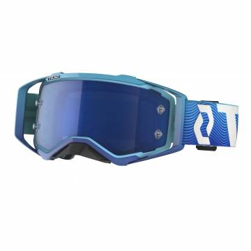 Scott Prospect Motocross Brille, blau/weiss
