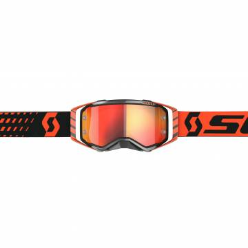 Motocross Brille Scott Prospect , orange/schwarz Vorderansicht