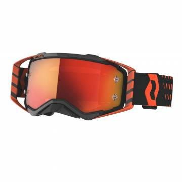 Motocross Brille Scott Prospect , orange/schwarz