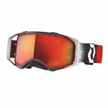 Scott Motocross Brille Prospect in rot/schwarz/weiss