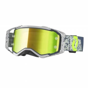 Scott Prospect Motocross Brille, grau/gelb