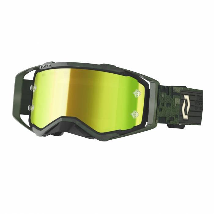 Scott Prospect Motocross Brille, dunkelgrün