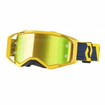 Scott Prospect Motocross Brille, gelb/dunkelblau