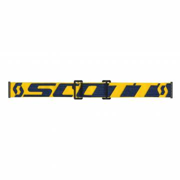 Scott Prospect Motocross Brille, gelb/dunkelblau Brillenband