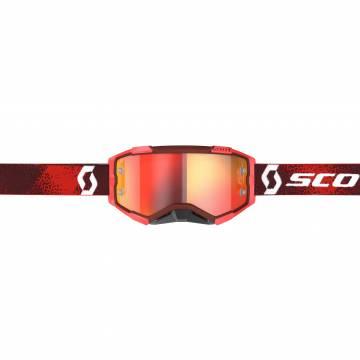 Scott Brille FURY, rot für Motocross - Vorderansicht