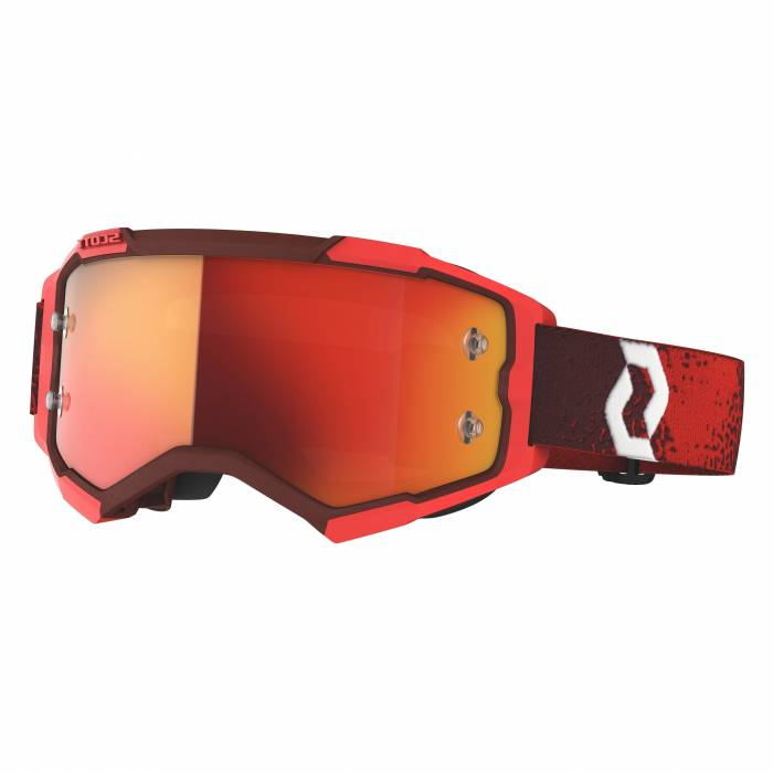 SCOTT Fury Motocross Brille, rot, 272828-0004280