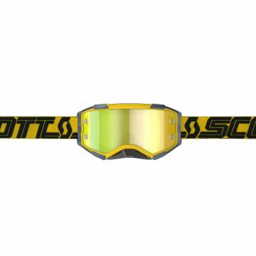 Scott Fury Motocross Brille  gelb/blau