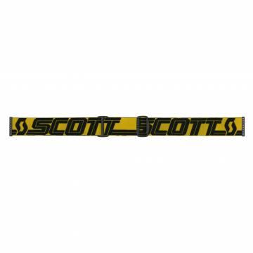 Scott Fury Motocross Brille  gelb/blau Brillenband