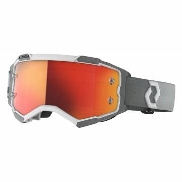 SCOTT Fury Motocross Brille, grau/weiss, 272828-1039280