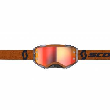 SCOTT Fury Motocross Brille, orange/grau, 272828-1294280  Vorderansicht