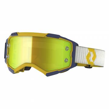 SCOTT Fury Motocross Brille, gelb/blau, 272828-1300289