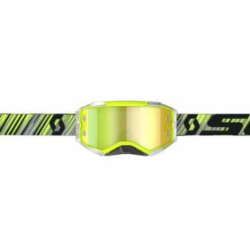 SCOTT Fury Motocross Brille, gelb/grau, 272828-4331289 Vorderansicht