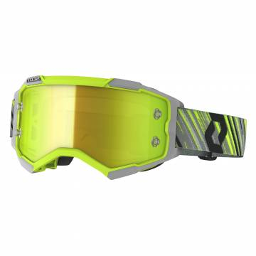 SCOTT Fury Motocross Brille, gelb/grau, 272828-4331289
