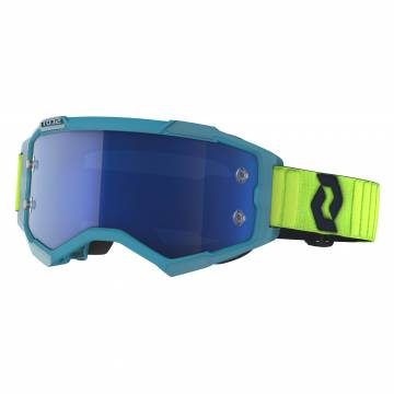 SCOTT Fury Motocross Brille, blau/gelb, 272828-6362278