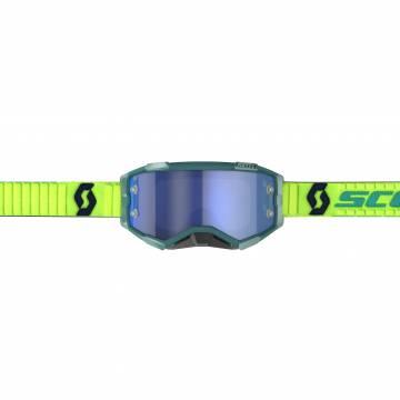 SCOTT Fury Motocross Brille, blau/gelb, 272828-6362278 Vorderansicht