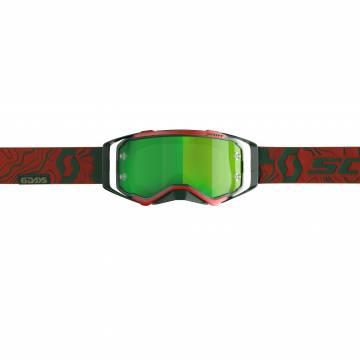 Scott Prospect 6 Days Portugal LE Motocross Brille, rot/grün