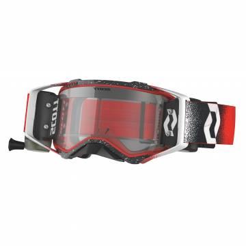 Scott Prospect WFS Motocross Roll-Off Brille, rot/schwarz/weiss