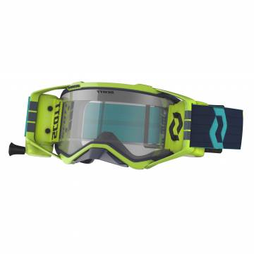 SCOTT PROSPECT WFS Motocross Roll-Off Brille, gelb/blau
