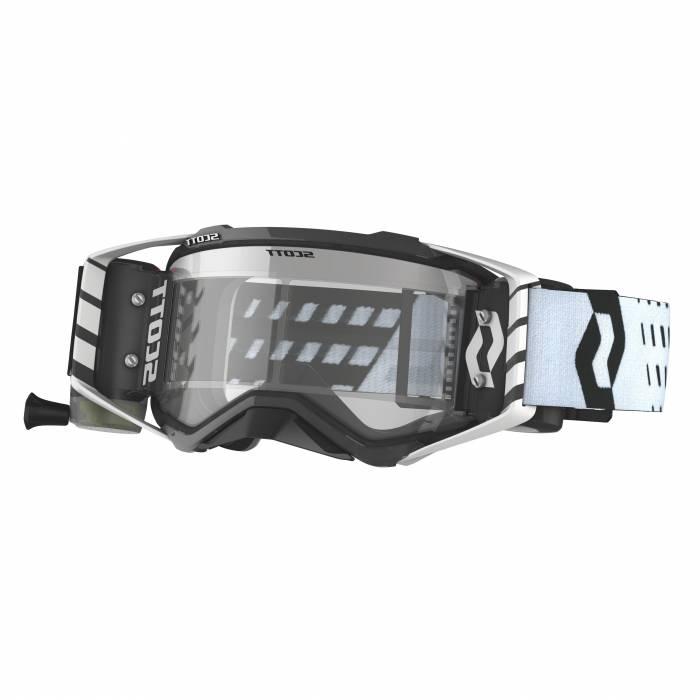 Scott Prospect WFS Motocross Roll-Off Brille, weiss/schwarz