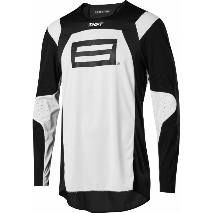 Shift Blue Label Archival LE Motocross Jersey, schwarz/weiss